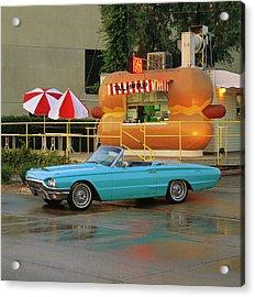 1964 Ford Thunderbird Convertible Acrylic Print