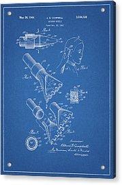 1964 Salon Suction Patent Acrylic Print