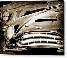 1965 Aston Martin Db6 Short Chassis Volante Grille-0970scl Acrylic Print