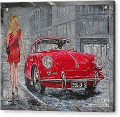 1965 Porsche 356 C Acrylic Print