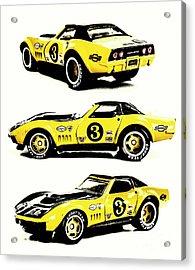1969 Chevrolet Copo Corvette Acrylic Print