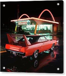 1970 Plymouth Superbird Acrylic Print by Car Culture