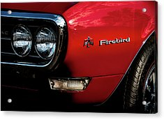 Acrylic Print featuring the photograph 1st Generation Firebird by Onyonet  Photo Studios