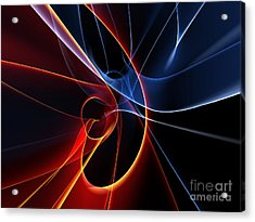 3d Rendered Backgrounds Acrylic Print