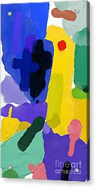 Abstract, Which Consists Of A Plurality Acrylic Print