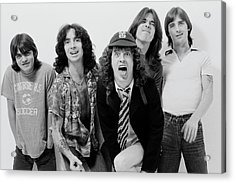 Acdc In London Acrylic Print