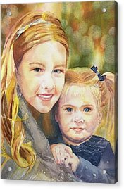 Belle And Maddie Acrylic Print