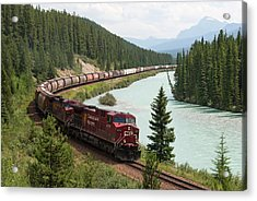Bow River Valley, Canadian Pacific Acrylic Print