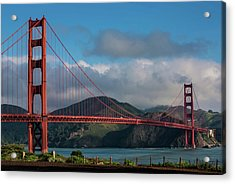 Exploring San Francisco & The Bay Area Acrylic Print by George Rose