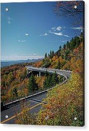 Linn Cove Viaduct - Blue Ridge Parkway Acrylic Print