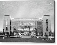 Loyola University Klarchek Commons Acrylic Print