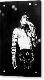 Michael Jackson Acrylic Print by Afro Newspaper/gado