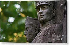 Acrylic Print featuring the photograph Monument To The Duchess Of Victory Genoves Park Cadiz Spain by Pablo Avanzini