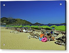 Acrylic Print featuring the photograph On The Beach by Tony Murtagh
