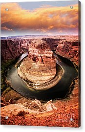 Acrylic Print featuring the photograph River Bend by Scott Kemper