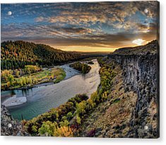 River Magic Acrylic Print