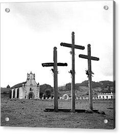 San Juan Chamula, Mexico Acrylic Print by Michael Ochs Archives