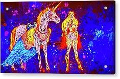 She - Ra And Swift Wind Acrylic Print