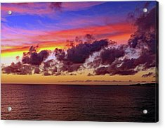 Acrylic Print featuring the photograph Sunset by Tony Murtagh