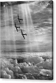 Supermarine Spitfire Acrylic Print by Fox Photos
