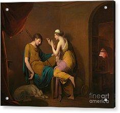 The Corinthian Maid Acrylic Print