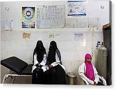 The Republic Of Yemen Acrylic Print by Brent Stirton