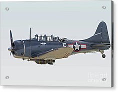 Vintage World War II Dive Bomber Acrylic Print