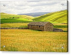 Yorkshire Dales Landscape Acrylic Print