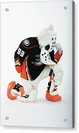 2012 Nhl All-star Game - Mascot Acrylic Print