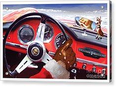 2013 Alfa Club Christmas Card Acrylic Print