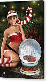 2015 Alfa Club Christmas Card Acrylic Print