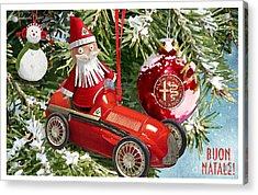 2016 Alfa Club Christmas Card Acrylic Print