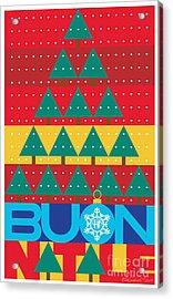 2017 Alfa Club Christmas Card Acrylic Print