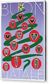 2018 Alfa Club Christmas Card Acrylic Print