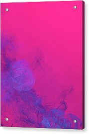 Colored Smoke Acrylic Print by Henrik Sorensen