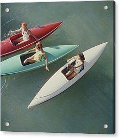 Lake Tahoe Trip Acrylic Print by Slim Aarons