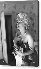 Marilyn Getting Ready To Go Out Acrylic Print