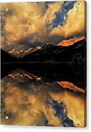 Marsh Lake At Sunrise, John Muir Acrylic Print by Adam Jones