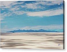 Salar De Uyuni, Bolivia Acrylic Print by Anthony Asael