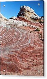 Sandstone Landscape, Vermillion Cliffs Acrylic Print by Howie Garber