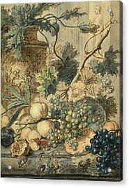 Still Life With Fruit. Acrylic Print
