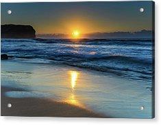 Sunrise Lights Up The Sea Acrylic Print