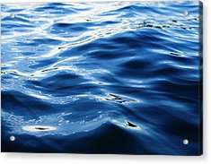 The Ocean View From The Coast At Big Acrylic Print by Mint Images - Paul Edmondson
