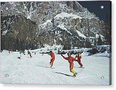 Cortina Dampezzo Acrylic Print by Slim Aarons