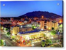 El Paso, Texas Acrylic Print by Denis Tangney Jr