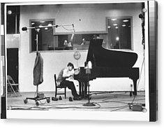 Glenn Gould Acrylic Print