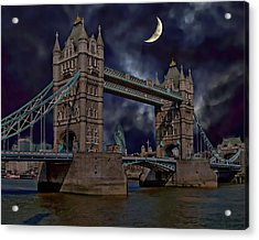 London Tower Bridge Acrylic Print