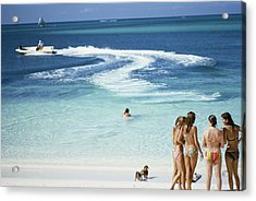 Lyford Cay Acrylic Print by Slim Aarons
