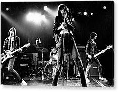 Photo Of Ramones Acrylic Print by Michael Ochs Archives