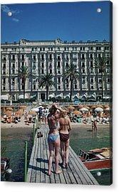 Cannes France Acrylic Print